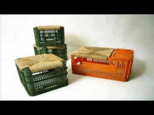 اعادة استغلال صناديق الخضراوات والفواكه